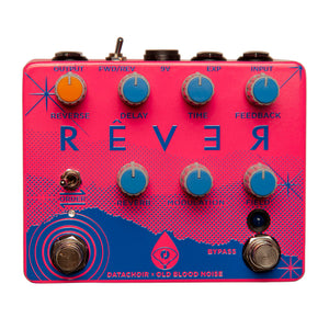 Old Blood Noise Endeavors Rêver Reverse Delay Reverb, Spring Breakers Pink