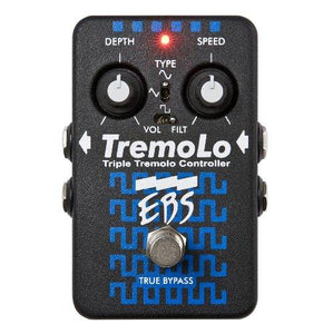 EBS TremoLo Triple Bass Stereo Tremolo