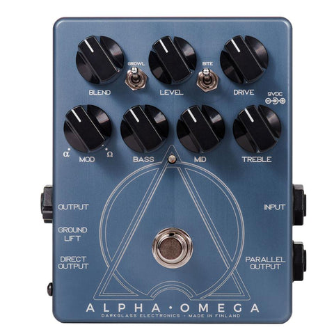Darkglass Alpha Omega Bass Preamp and Overdrive