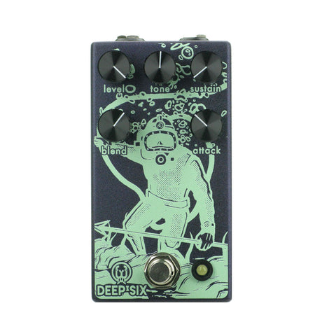 Walrus Audio Deep Six Compressor V3, Purple (Gear Hero Exclusive)