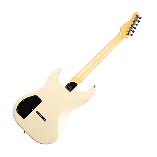 Godin Session HT 6 String Solid-Body Electric Guitar, Transparent Cream