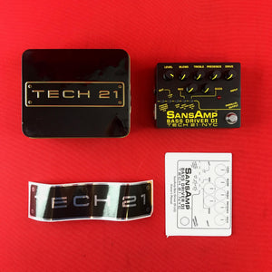 [USED] Tech 21 SansAmp Bass Driver DI v2 - Pre-Amp & DI for Bass