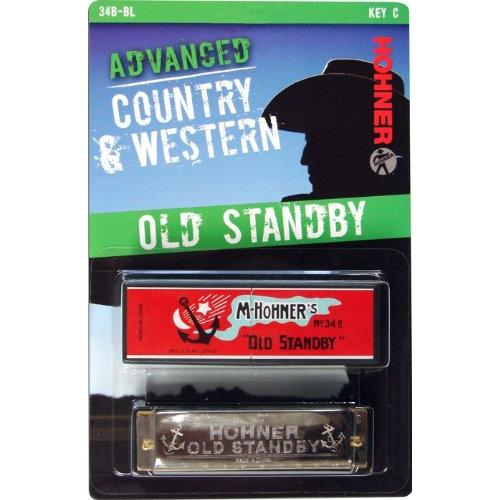 Hohner 34B-BX-C Old Standby Harmonica, Key Of C