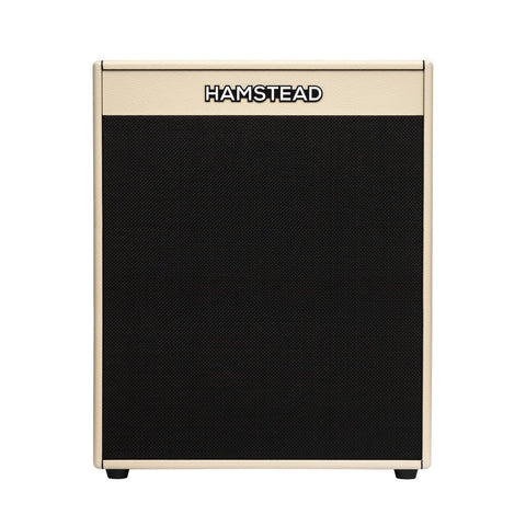 Hamstead Soundworks 2x12 Guitar Vertical Cabinet, Cream