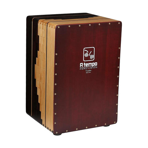 A Tempo Percussion Tocador Flamenco Cajon w/Gig Bag