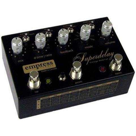 Empress Effects Superdelay Vintage Modified