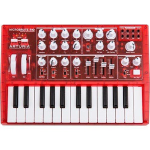 Arturia MicroBrute Analog Synthesizer RED Edition Red