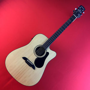 [USED] Alvarez AD30CE Artist Series Dreadnought Acoustic-Electric Guitar, Natural Satin Finish