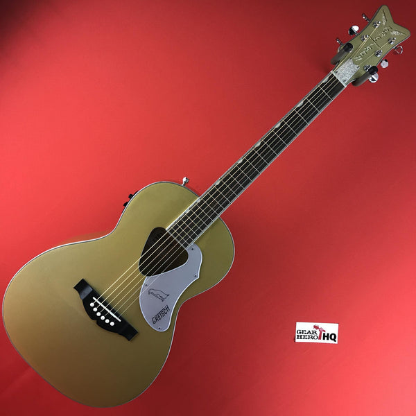 [USED] Gretsch G5021E Limited Edition Rancher Penguin Parlor Acoustic Electric, Casino Gold