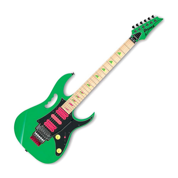 Ibanez Steve Vai Signature JEM777 Electric Guitar Limited Edition Loch Ness Green