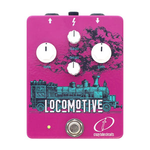 Crazy Tube Circuits Locomotive Bass Overdrive