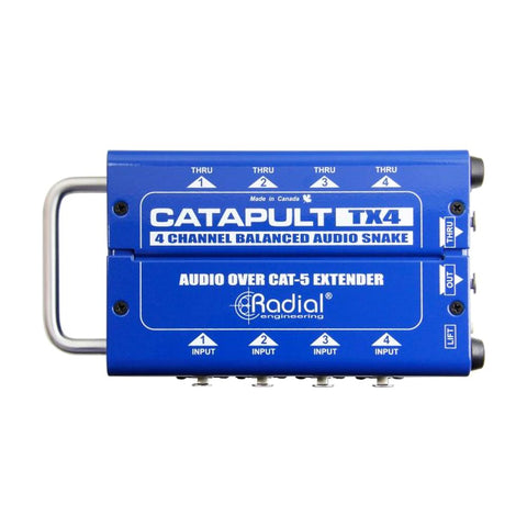 Radial TX4 Catapult 4-Channel Cat 5 Audio Snake, Transmitter
