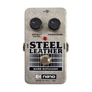 Electro-Harmonix Steel Leather Bass Expander