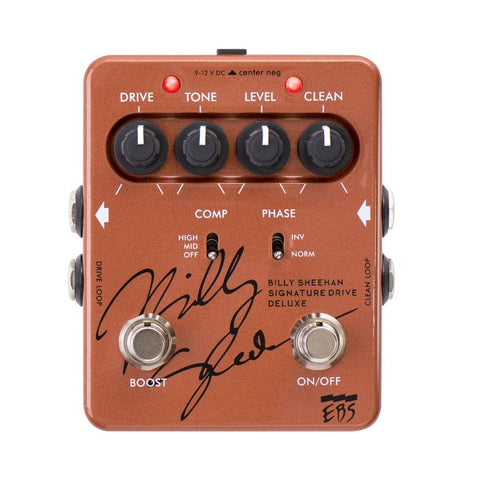 EBS Billy Sheehan Signature Drive Deluxe Signature Bass Pedal