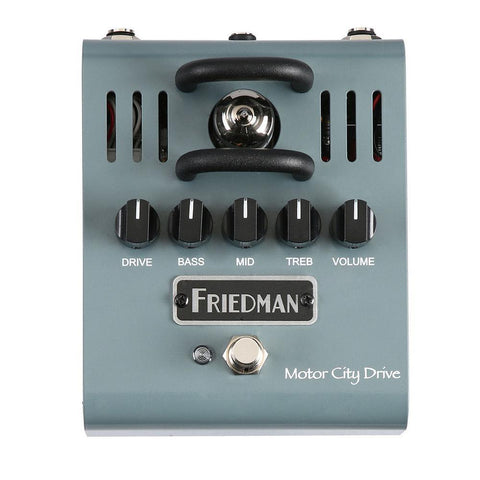 Friedman Motor City Drive 12AX7 Tube Powered Overdrive