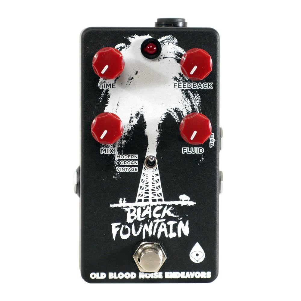 Old Blood Noise Endeavors Black Fountain Delay (GearHero Exclusive Black and White)