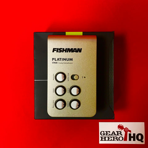[USED] Fishman Platinum Stage Class-A EQ/DI