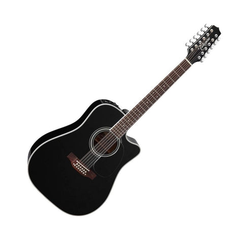 Takamine EF381SC 12-String Dreadnought Acoustic/ Electric Guitar with Hard Case