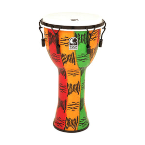Toca TF2DM-10S FreeStyle II 10-Inch Mechanically Tuned Djembe, Spirit