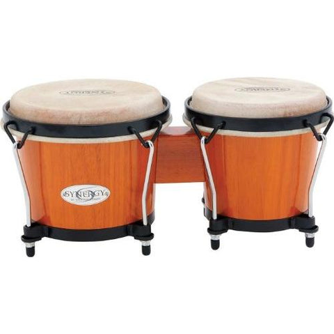 Toca Synergy Series Bongo Set, Amber