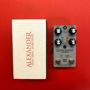 [USED]Alexander Pedals Quadrant Audio Mirror Delay