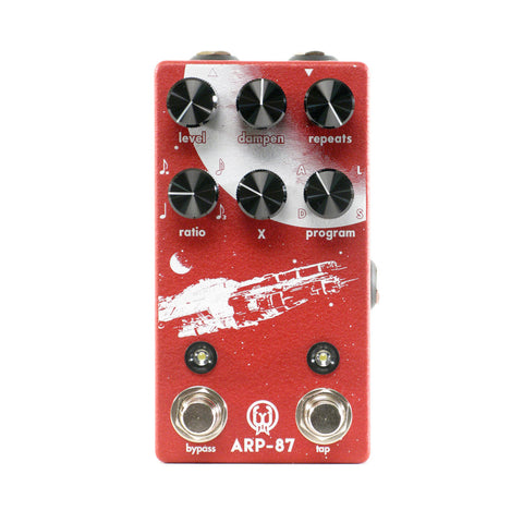 Walrus Audio ARP-87 Multi-Function Delay, Exclusive Red/White