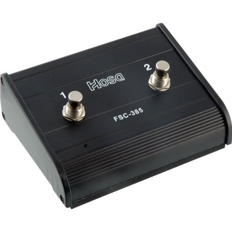 Hosa Dual-Channel Foot Switch