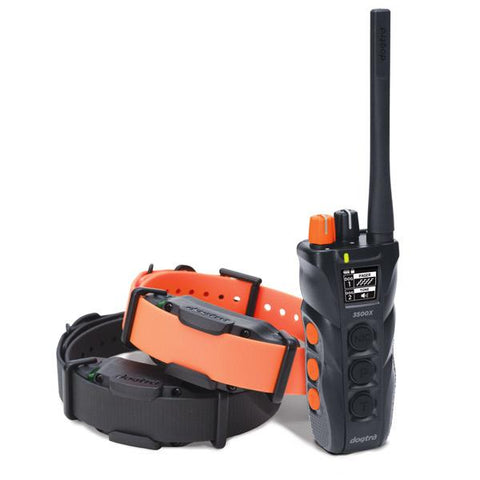 Dogtra 3502X Long Range IPX9K Waterproof 1.5-Mile 2-Dog Expandable Dual Dial Remote Trainer - DogTrainerStore
