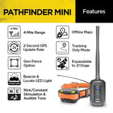 Dogtra Pathfinder Mini GPS Track system - DogTrainerStore