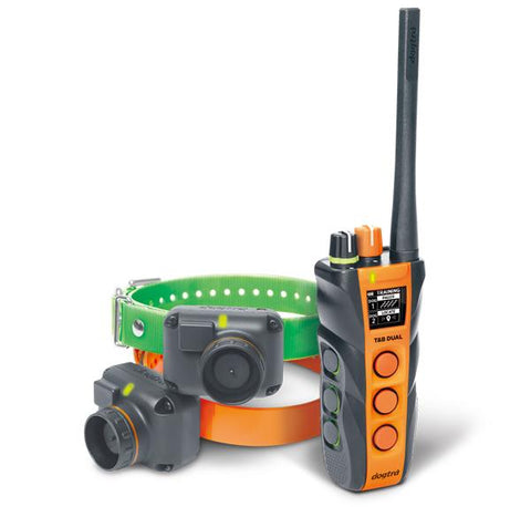 Dogtra T&B Dual 2-Dog Long Range 1.5-Mile Expandable Dual DIAL Training & Beeper Remote Dog Training E-Collar for Upland Gun Dog
