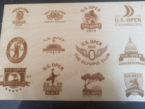 US Open Golf History Logo's