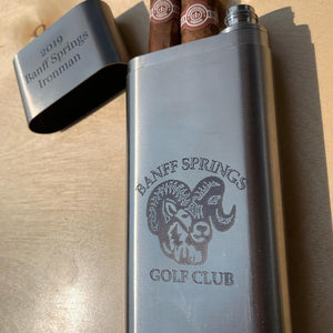 Flask - Cigar Stainless Steel