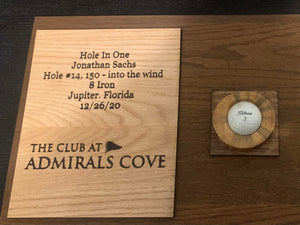 Hole in One display unit