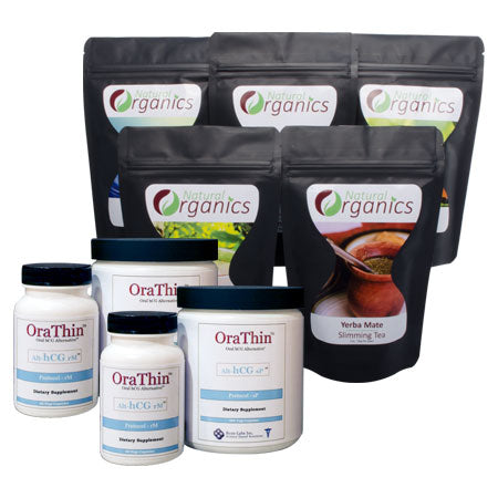 45-Day OraThin™ Tea Package