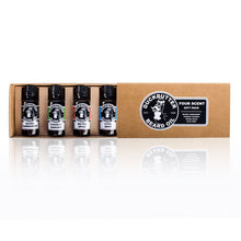 Organic Beard Oil 4-pack Gift Set