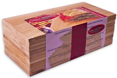 Natural Cedar Grilling Planks - 12 pack