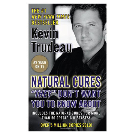 Natural Cures Book, Kevin Trudeau