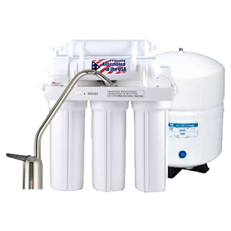 Undercounter 5-Stage Reverse Osmosis System