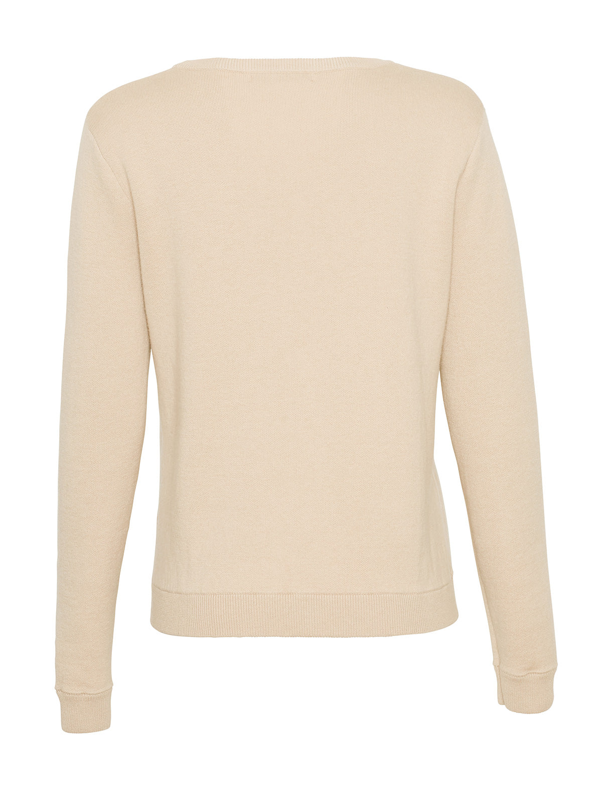 COTTON CASHMERE CLASSIC CREWNECK, BLUSH