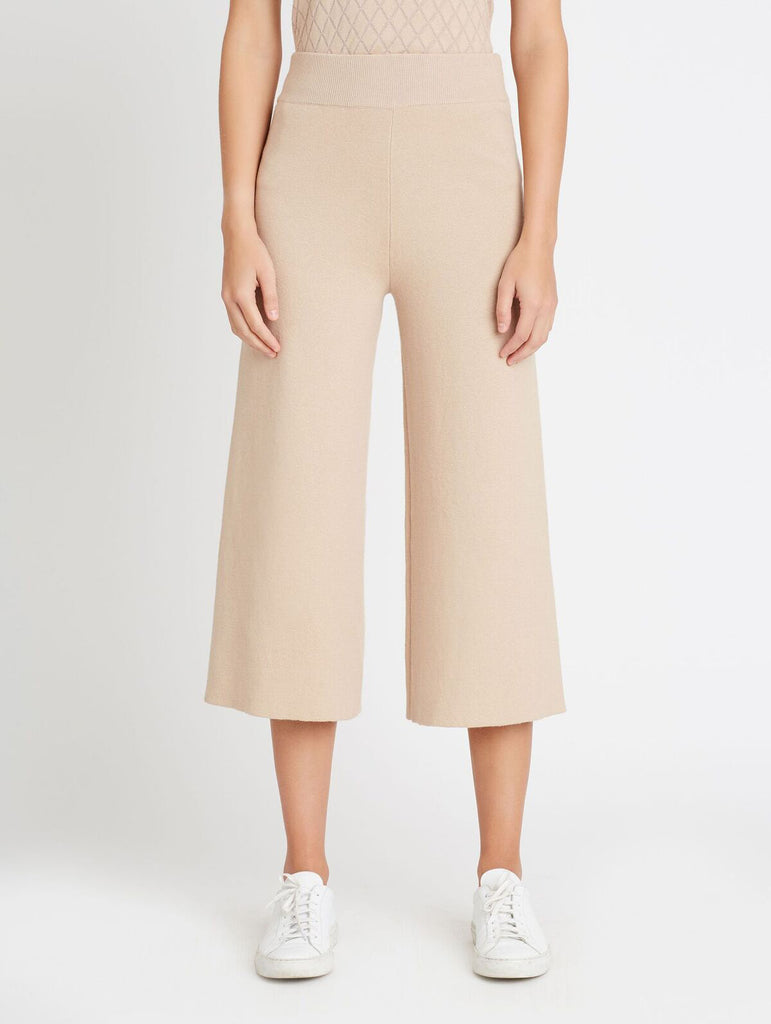 COTTON CASHMERE PANT, BLUSH
