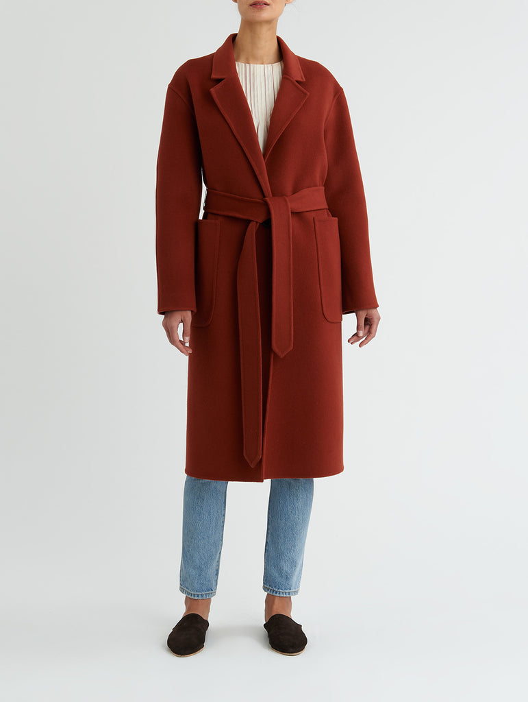 LONG LAPEL COAT<br> PRE-ORDER