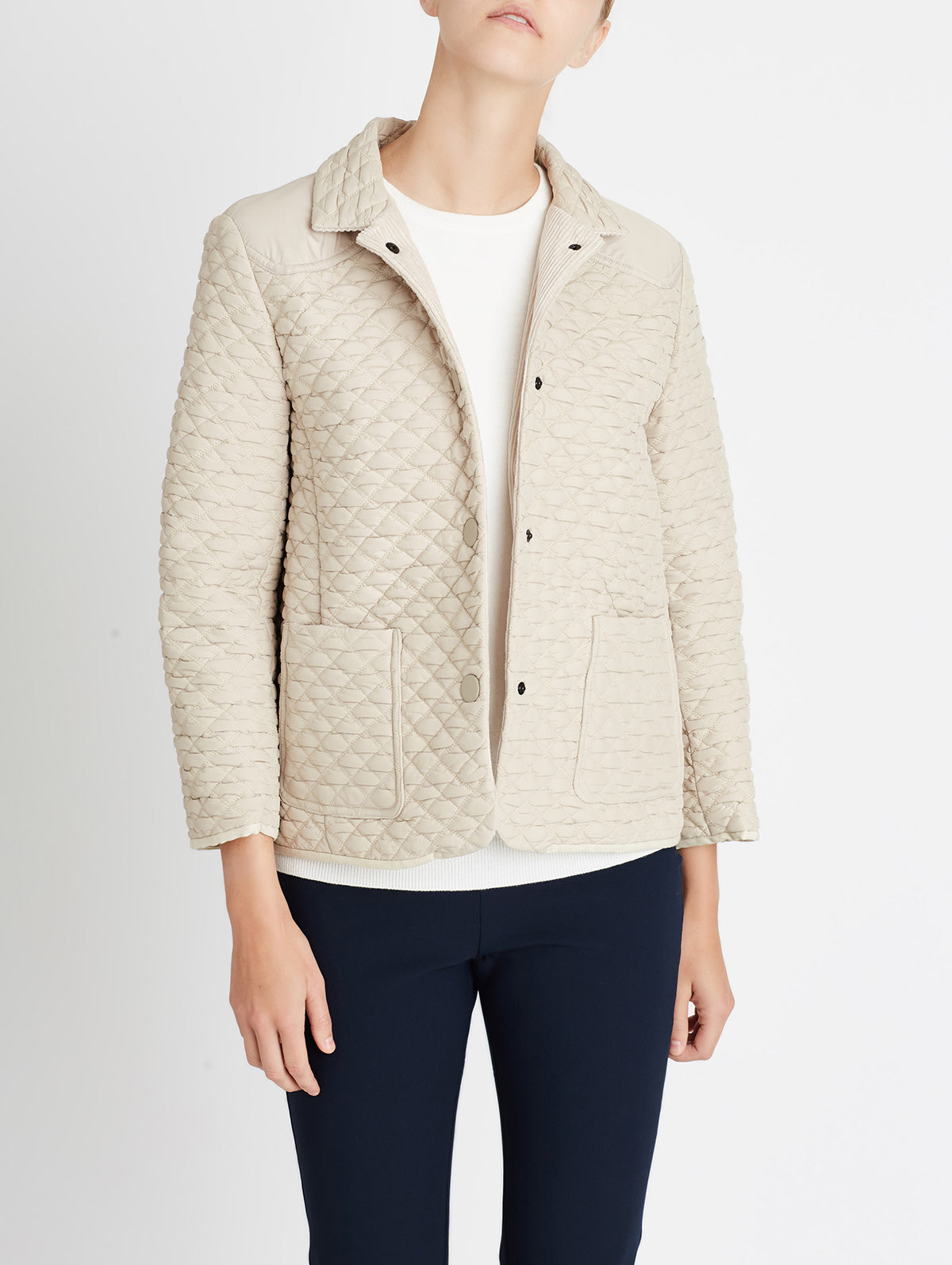 QUILTED PADDOCK JACKET
