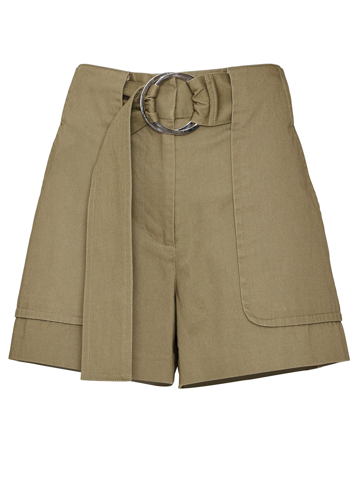 RIDING POCKET SHORTS, OLIVE