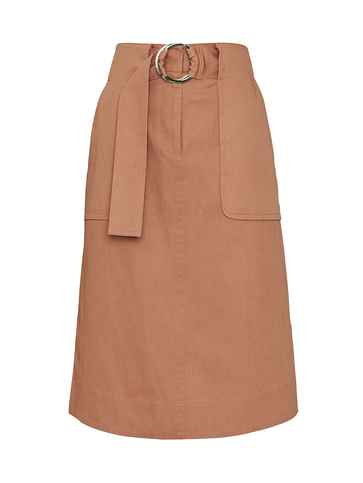 RIDING SKIRT, SALMON