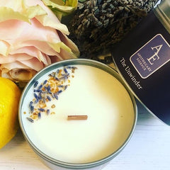 Harpenden pop up Apothecary Essence candle