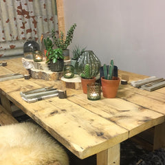 Neat homeware & Nikkita Palmer reclaimed spring table