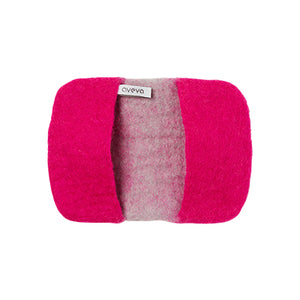 Aveva Felted pot holder cerise pink