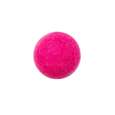 Aveva Felted wall hook cerise pink
