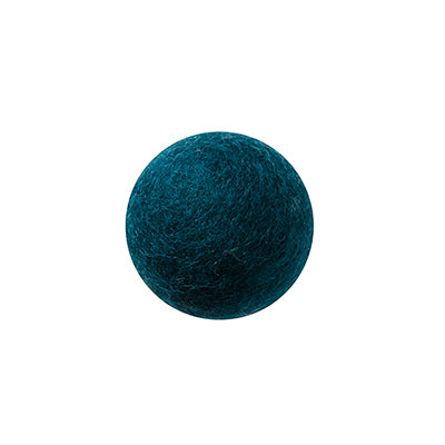 Aveva Felted wall hook petrol blue