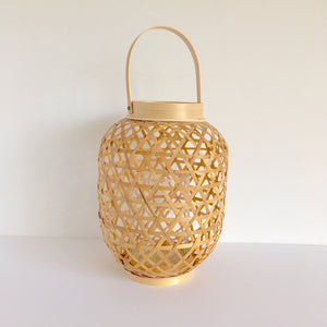 Bamboo Lattice Lantern